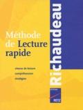 François Richaudeau - Méthode de Lecture rapide.