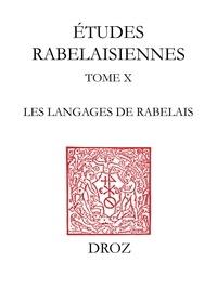 François Rigolot - Les Langages de Rabelais.