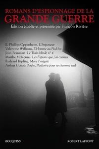 François Rivière - Romans d'espionnage de la Grande Guerre.