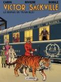 Francis Carin et François Rivière - Victor Sackville Tome 21 : Le disparu du train bleu.