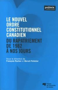 Deedr.fr Le nouvel ordre constitutionnel canadien - Du rapatriement de 1982 à nos jours Image