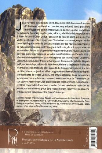 Jean Potocki, le travail du temps. Autour d'un bicentenaire