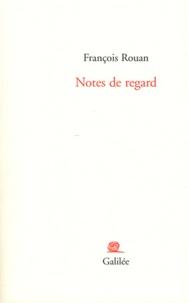 François Rouan - Notes de regard.