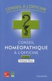François Roux - Conseil homéopathique à l'officine.