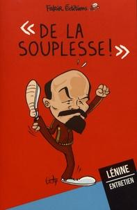 Deedr.fr De la souplesse! - Entretien avec Lénine Image