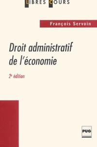 François Servoin - Droit administratif de l'économie.