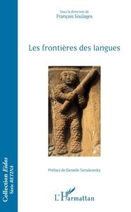 François Soulages - Les frontières des langues.
