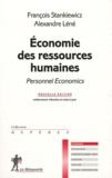 François Stankiewicz et Alexandre Léné - Economie des ressources humaines - Personnel Economics.