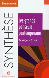 François Stirn - Les grands penseurs contemporains.