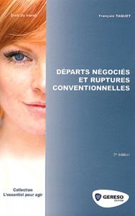 François Taquet - Départs négociés et ruptures conventionnelles.