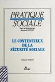 François Taquet - Le contentieux de la sécurité sociale.