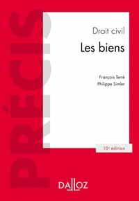 François Terré et Philippe Simler - Droit civil.Les biens.