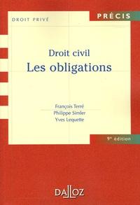 François Terré et Philippe Simler - Droit civil - Les obligations.