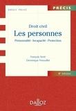François Terré et Dominique Fenouillet - Droit civil - Les personnes : Personnalité - Incapacité - Protection.