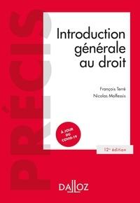 François Terré et Nicolas Molfessis - Introduction générale au droit.