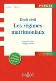 François Terré et Philippe Simler - Les régimes matrimoniaux.