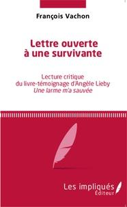 Goodtastepolice.fr Lettre ouverte à une survivante - Lecture critique du livre-témoignage d'Angèle Lieby