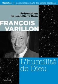 François Varillon - L'humilité de Dieu.