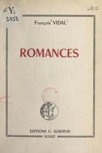 François Vidal - Romances.