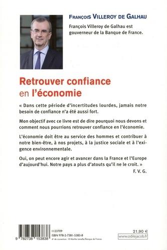 Retrouver la confiance en l'économie