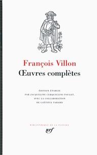 François Villon - Oeuvres complètes.
