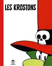 François Walthéry - Les Krostons font leur cinéma : portfolio - Contient 10 planches.