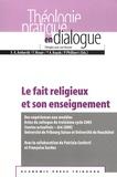 François-Xavier Amherdt et Félix Moser - Le fait religieux et son enseignement - Des expériences aux modèles.