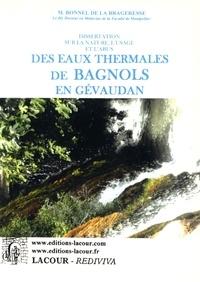 Lemememonde.fr Dissertation sur la nature, l'usage et l'abus des eaux thermales de Bagnols en Gévaudan Image