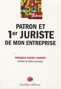François-Xavier Charvet - Patron et 1er juriste de mon entreprise.