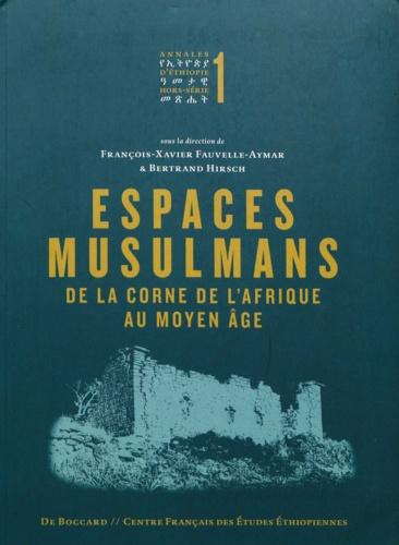Espaces musulmans de la Corne de l'Afrique au Moyen Age. Etudes d'archéologie et d'histoire