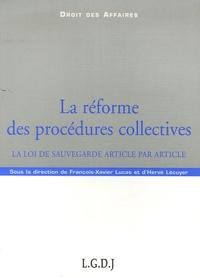 La réforme des procédures collectives - La loi de sauvegarde article par article.pdf