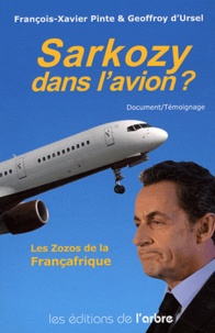 François-Xavier Pinte et Geoffroy d' Ursel - Sarkozy dans l'avion ?.