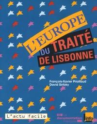 François-Xavier Priollaud et David Siritzky - L'Europe du traité de Lisbonne.