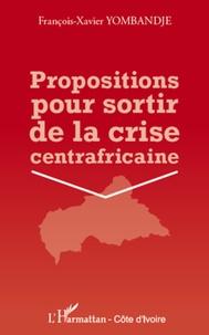Rhonealpesinfo.fr Propositions pour sortir de la crise centrafricaine Image