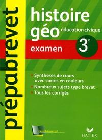 Ucareoutplacement.be Histoire Géographie 3e - Examen Image