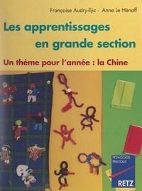 Françoise Audry-Iljic et Anne Le Hénaff - Les apprentissages en grande section - Un thème pour l'année : la Chine.