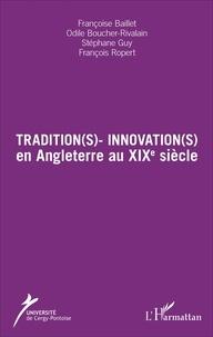 Deedr.fr Tradition(s) - Innovation(s) en Angleterre au XIXe siècle Image