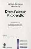 Françoise Benhamou et Joëlle Farchy - Droit d'auteur et copyright.