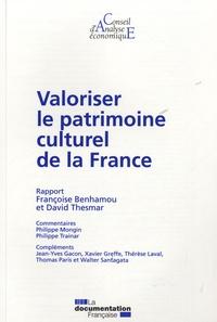 Françoise Benhamou et David Thesmar - Valoriser le patrimoine culturel de la France.