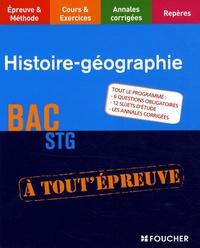 Françoise Blanchard et Jacqueline Kermarec - Histoire-Géographie Bac STG.