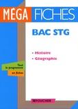 Françoise Blanchard et Jean Hubac - Histoire-Géographie Bac STG.