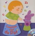 Françoise Bobe et Rémi Guichard - Comptines autour du pot. 1 CD audio MP3