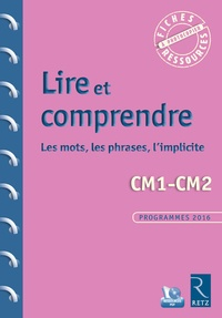 Françoise Bois Parriaud et Annie Cornu-Leyrit - Lire et comprendre CM1-CM2 - Les mots, les phrases, l'implicite. 1 Cédérom
