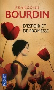 Livres à télécharger gratuitement en pdf D'espoir et de promesse 9782266212618 DJVU FB2 par Françoise Bourdin