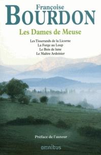 Galabria.be Les Dames de Meuse - Les Tisserands de la Licorne ; La Forge au Loup ; Le Bois de lune ; Le Maître Ardoisier Image