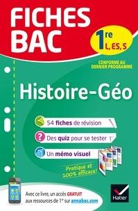 Françoise Bouron et Nathalie Renault-Rodet - Histoire géographie 1re L, ES, S.