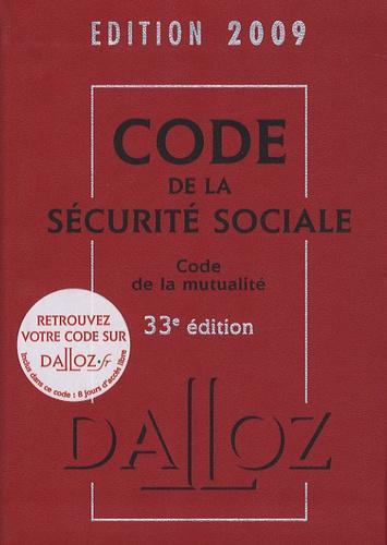 Françoise Bousez et Jean-Luc Alliot - Code de la Sécurité Sociale et Code de la mutualité.