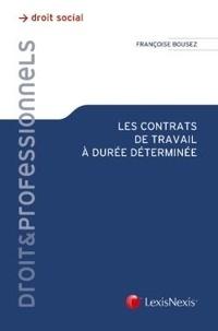 Les contrats de travail à durée déterminée.pdf