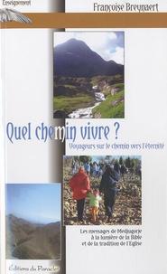 Françoise Breynaert - Quel chemin vivre ? - Voyageurs sur le chemin vers l'éternité.