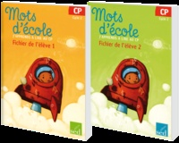 Françoise Bruat et Aline El Adrham - Mots d'école - J'apprends à lire au CP, fichiers de l'élève 1 et 2.